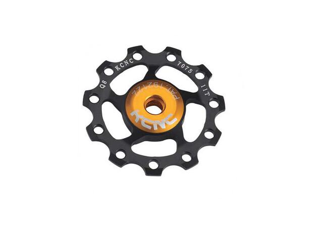 KCNC Jockey Wheel 12 tanden SS Lager zwart